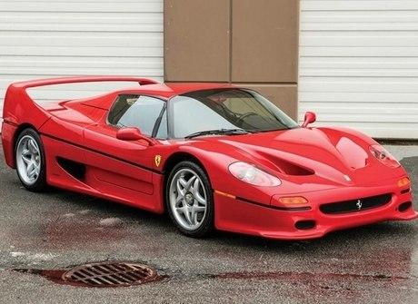 Ferrari F50 que foi de Mike Tyson será leiloada nos Estados Unidos