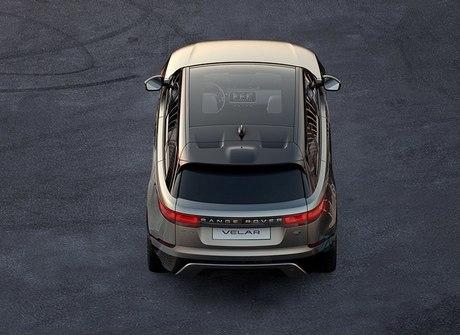 Land Rover revela o Velar, novo SUV da linha Range Rover. Espie!