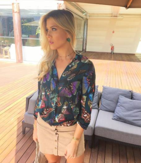 Mulher de Luis Fabiano rouba o posto de musa do Vasco - Fotos - R7 Futebol 6eb74b6e6578a
