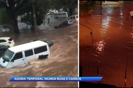 Pontos de alagamento em São Paulo
