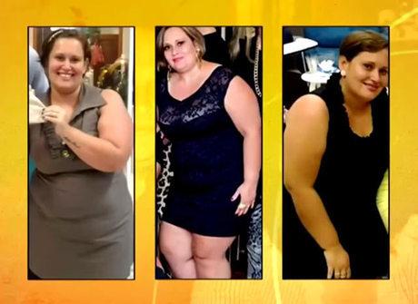 <em>Programa do Gugu</em> mostra mudança da mulher que perdeu quase 50 kg