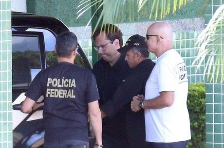 Empresário Bruno Luz é conduzido pela PF