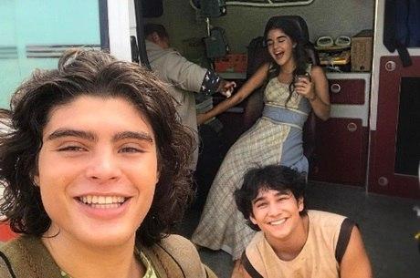 Gabriel Felipe, Rafael Gevú e Maitê Padilha vão formar um triângulo amoroso na primeira fase da novela