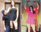 Garota que era zoada por ser gigante faz sucesso colossal