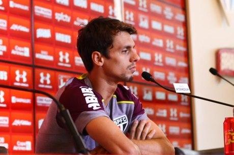 Rodrigo Caio concedeu entrevista coletiva nesta sexta-feira (10)