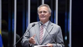 Justiça condena Renan à perda do mandato e de direitos políticos (Jefferson Rudy/08.03.2017/Agência Senado)