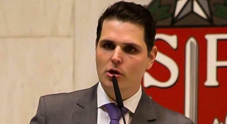 Macris (PSDB) se elegeu presidente da Alesp com 70 dos 94 votos em março de 2019