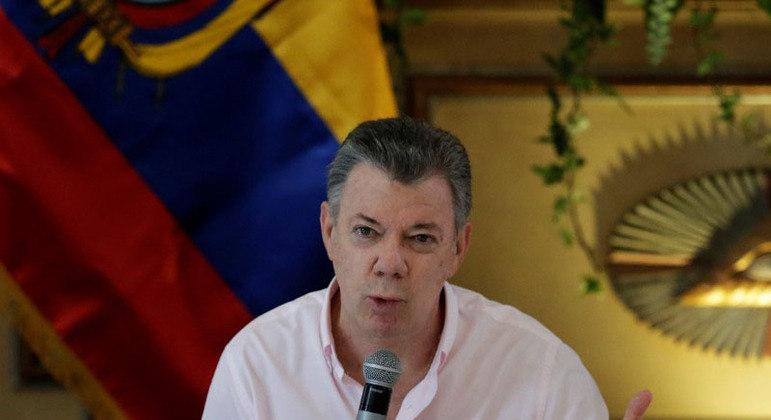 Ex-presidente da Colômbia, Juan Manuel Santos reconheceu execuções no país