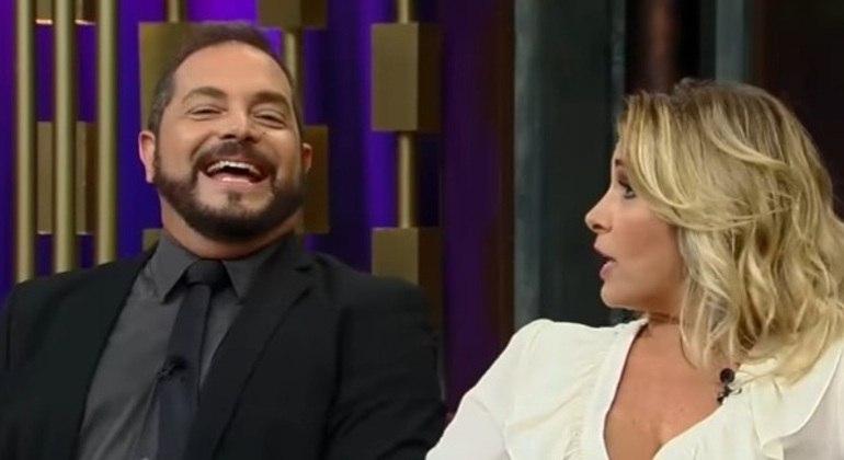 O casal Conrado e Andréa Sorvetão