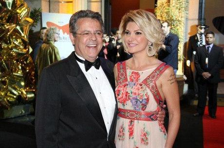 Marcos Paulo e Antonia Fonenelle