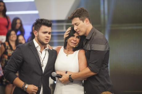 Destaque do programa foi reencontro de Gretchen com filho