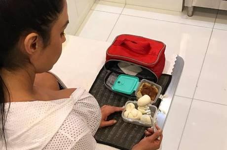 Gracyanne Barbosa tem alimentação regrada há quase 20 anos