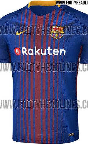 Site gringo divulga suposto novo uniforme do Barcelona - Esportes ... 9a6510ec9ad87