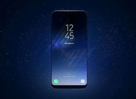 Samsung lança modelos com display infinito e sensor de íris