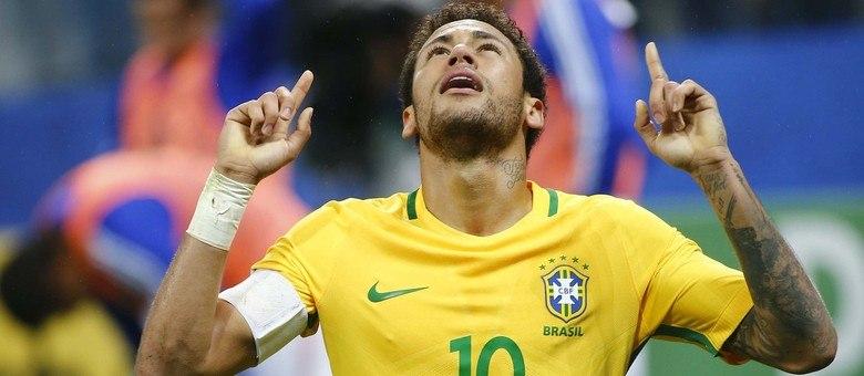 Neymar já é o melhor jogador do mundo  - Esportes - R7 Futebol 7d9cad5fa6618