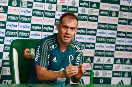 Eduardo Baptista foi demitido do Palmeiras no início do mês