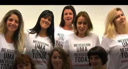 """A campanha """"Mexeu com uma, Mexeu com Todas"""" só valeu para algumas mulheres"""