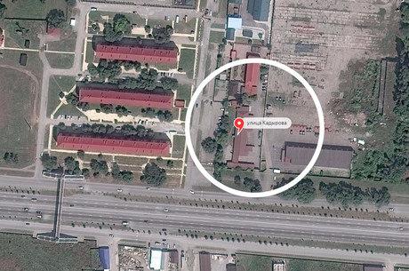 Segundo veículo russo, local assinalado é onde está o campo de concentração