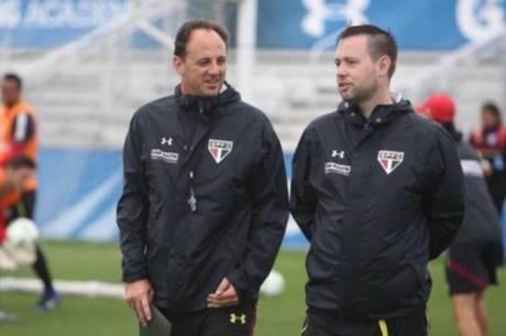 Rogério Ceni e Michael Beale têm trabalhado duro no São Paulo