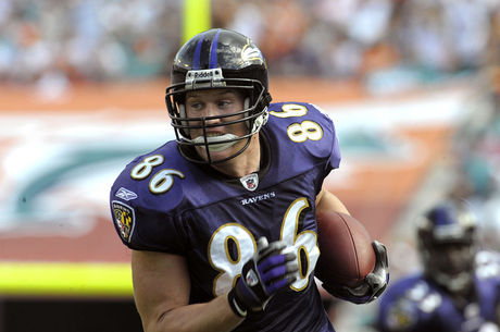 Todd Heap fez história defendendo as cores do Baltimore Ravens