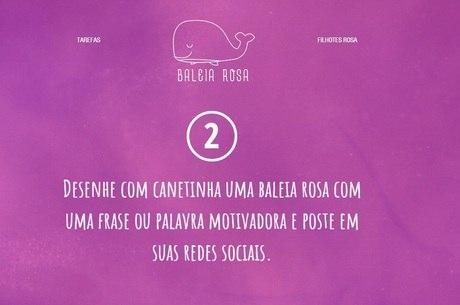 Baleia Rosa surgiu em reação à Baleia Azul