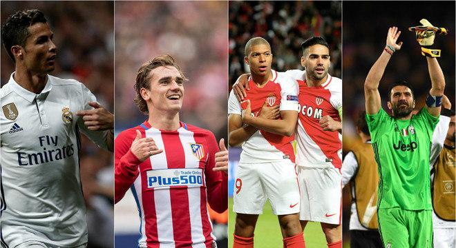 Clássico de Madri e ataque contra defesa. Uefa define confrontos das semifinais da Liga dos Campeões