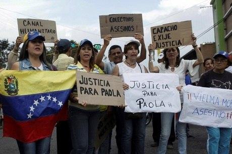 Porta-voz também lamentou morte de Paola Ramírez, jovem morta em protesto na quarta-feira (19)