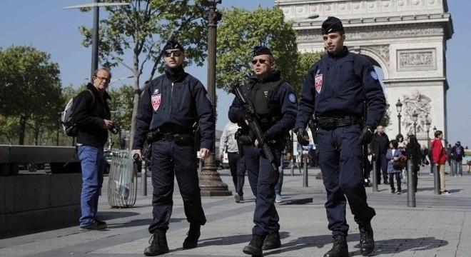Autoridades reforçaram segurança em Paris