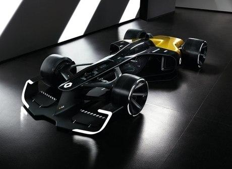 Renault revela o futurista R.S. 2027 Vision no Salão de Xangai, na China
