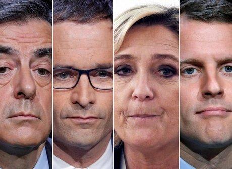 Confira as propostas dos principais candidatos à presidência da França