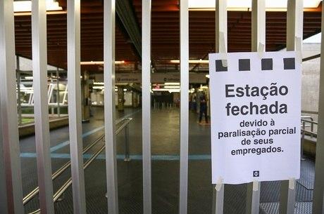 Em São Paulo, metrô, trens e ônibus não deverão funcionar
