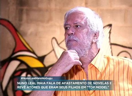 Afastado da TV, Nuno Leal Maia relembra papéis mais polêmicos
