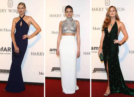 Veja looks das famosas no tapete vermelho do baile da amfAR 2017