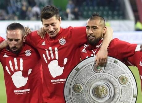 Sábado tem título do Bayern e vitórias do Real e do Leicester
