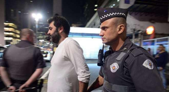 O empresário Hasan Zarif, de ascendência palestina, foi detido na noite de terça