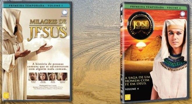 Os DVDs já estão à venda