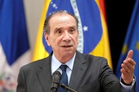 O ministro das Relações Exteriores, Aloysio Nunes (PSDB)