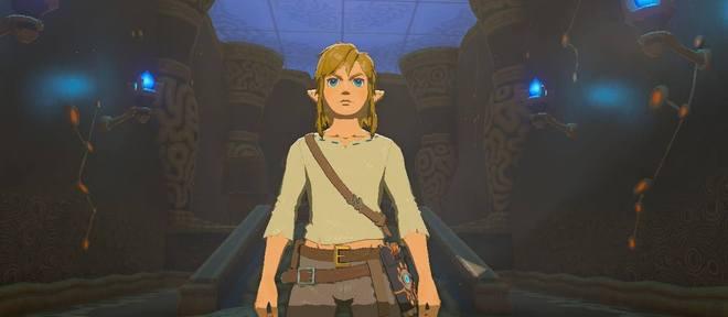 """Link precisa """"aprender a ser Link"""" no começo do jogo"""