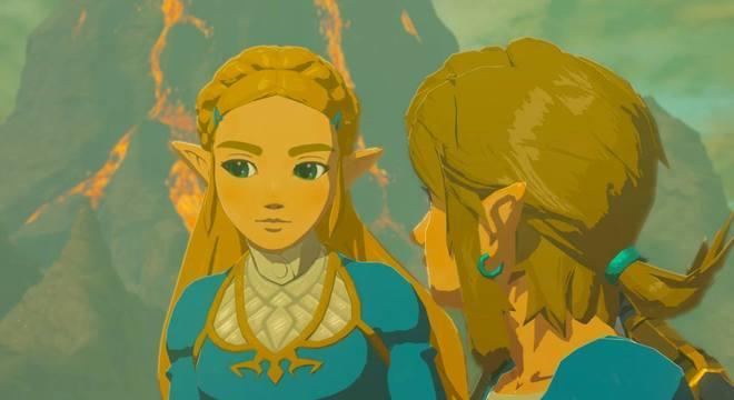 O game apresenta o mundo por meio das memórias de Zelda