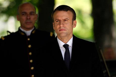 Emmanuel Macron, presidente da França