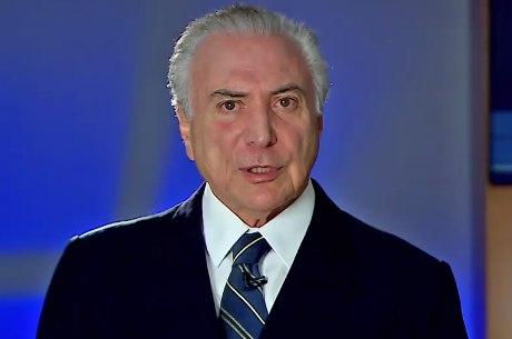 STF autorizou a PF a tomar o depoimento do presidente Michel Temer, por escrito