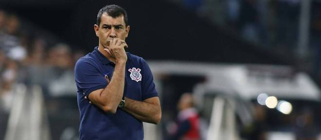 Fábio Carille quer manter a boa fase do Corinthians no Brasileirão contra o Botafogo, em Itaquera