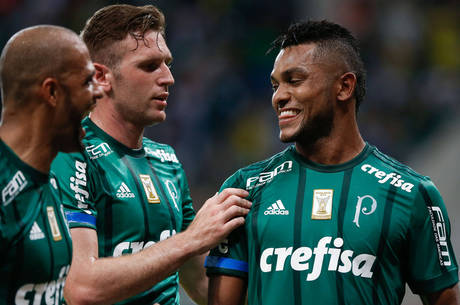 Borja desencantou e marcou duas vezes contra o Vasco