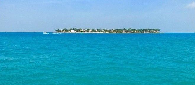 Não tem como não se maravilhas com o mar turquesa caribenho de Key West, na vista dos quartos do Margaritaville