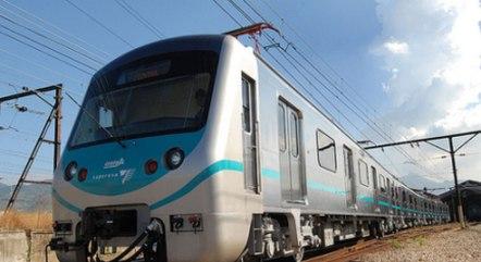 O trem partiu  do ramal Santa Cruz em direção à Central do Brasil
