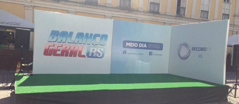 """Estrutura para o """"Dançando no Balanço"""""""