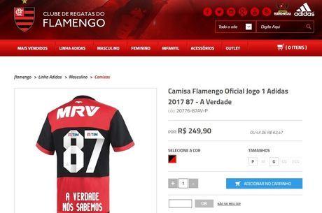 ebc3545a2a Flamengo vende camisa em resposta a Sport sobre polêmico caso de ...