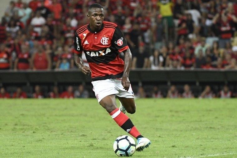 Flamengo finaliza a maior venda brasileira: Vinicius Júnior