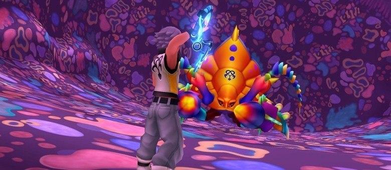 Riku tem um papel muito mais importante nesse jogo. Mesmo com jogabilidade parecida, jogar com ele é uma experiência refrescante