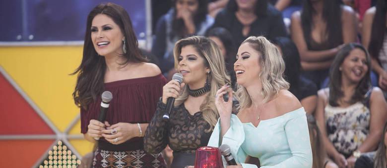As adversárias Paula Mattos, Carol Narizinho e Natália Guimarães deixam a disputa acirrada
